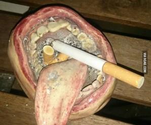 Оригинальные пепельницы — 14 креативных пепельниц