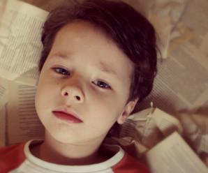 Детские модельные фотографии