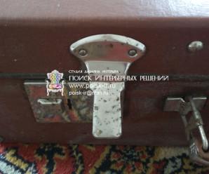 Фото старинных чемоданов (советских)