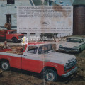 Форд знакомит со своими машинами — рекламка 1959 года