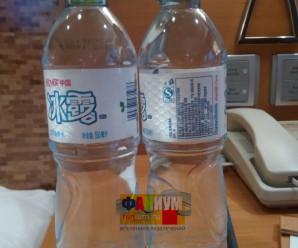 Бутилированная вода в Китае фото, отзывы.