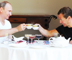 Приколы про Путина и Медведева