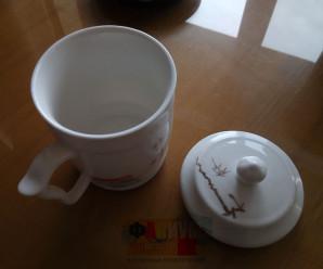 Китайская кружка для чая с крышкой — ФОТО