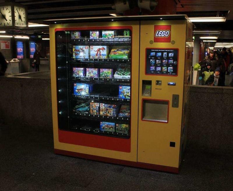 Необычные Вендинговые автоматы фото (4)