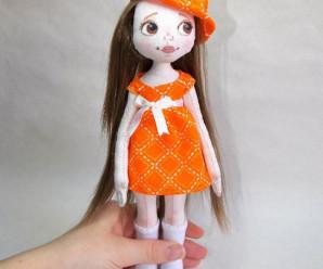 Текстильные куклы и игрушки фото