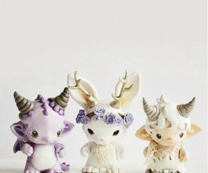 Очаровательные миниатюрные фигурки животных — фото