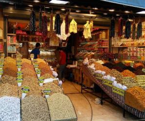 Стамбульский базар фото. Турецкий рынок в Стамбуле фото.