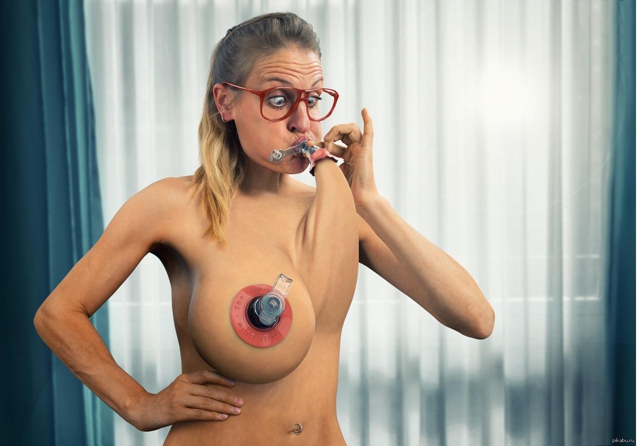 Приколы с женской грудью (11)