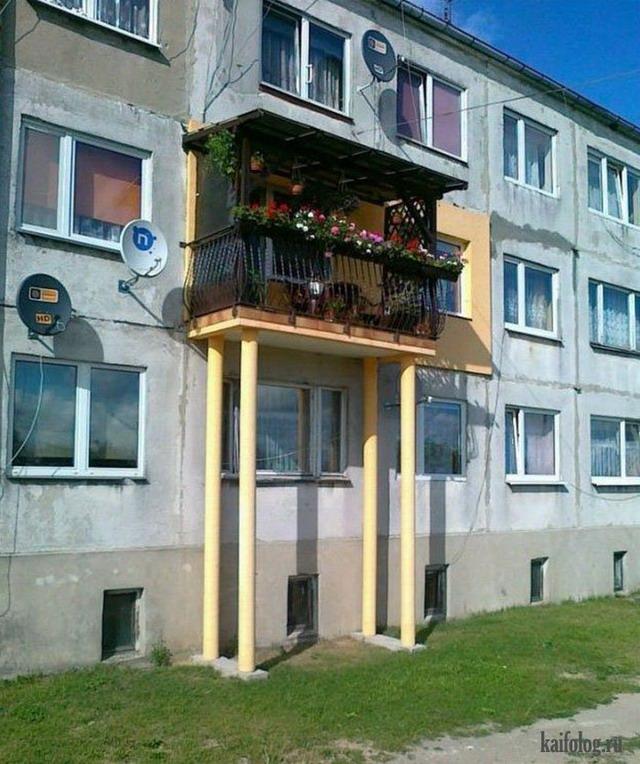 Прикольные балконы (9)