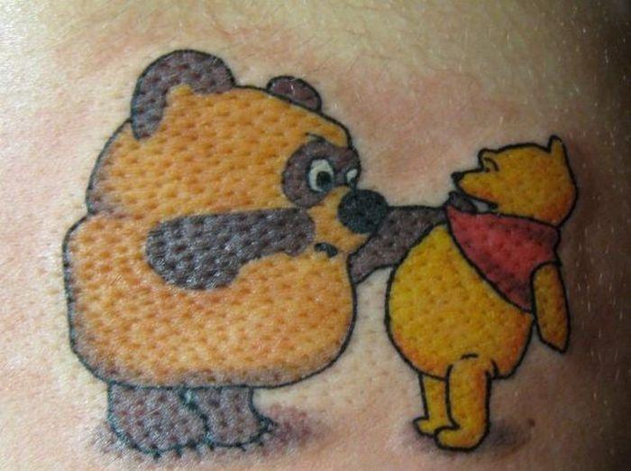 Чисто русские тату фотографии готовых татуировок (11)