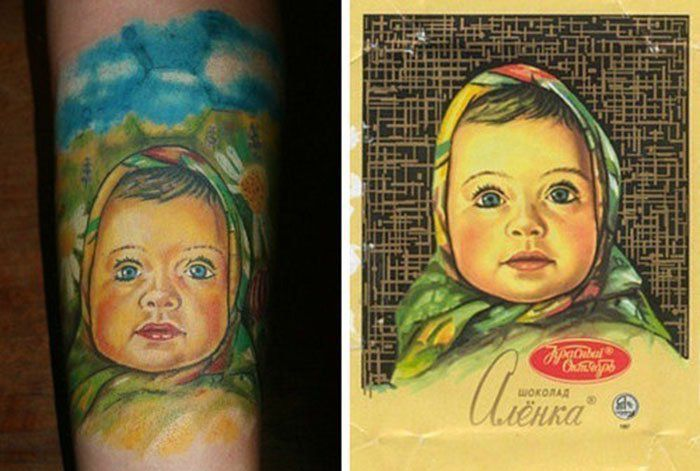 Чисто русские тату фотографии готовых татуировок (13)