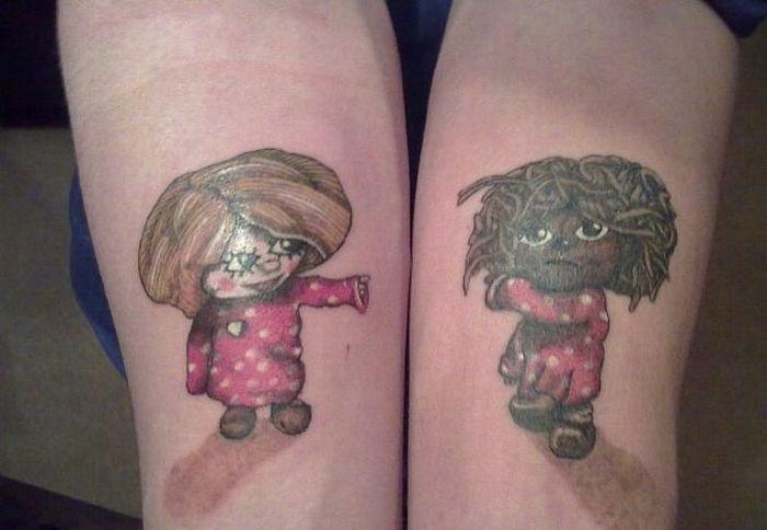 Чисто русские тату фотографии готовых татуировок (18)