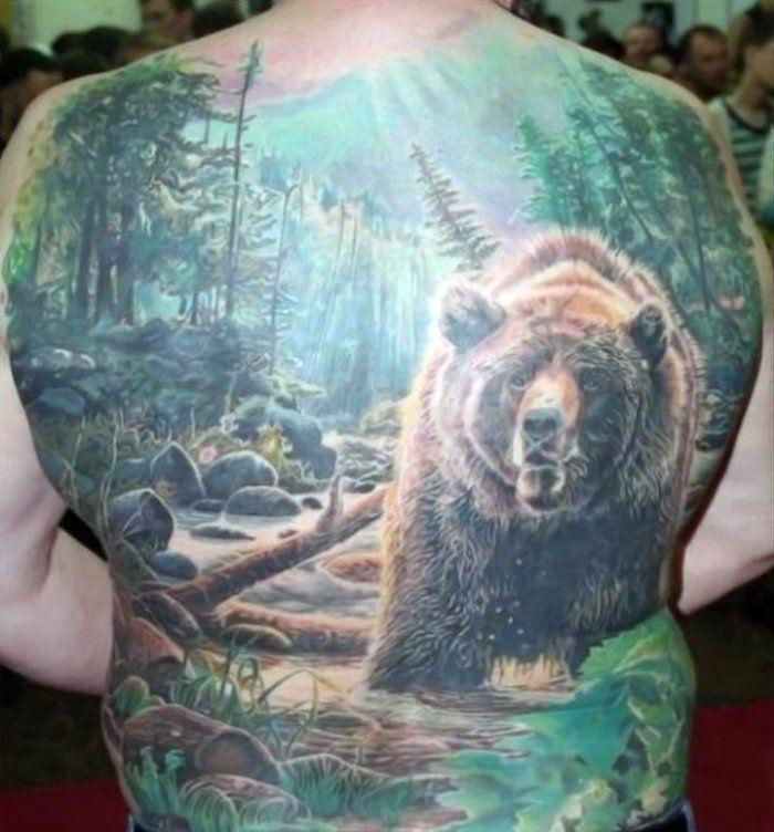 Чисто русские тату фотографии готовых татуировок (20)