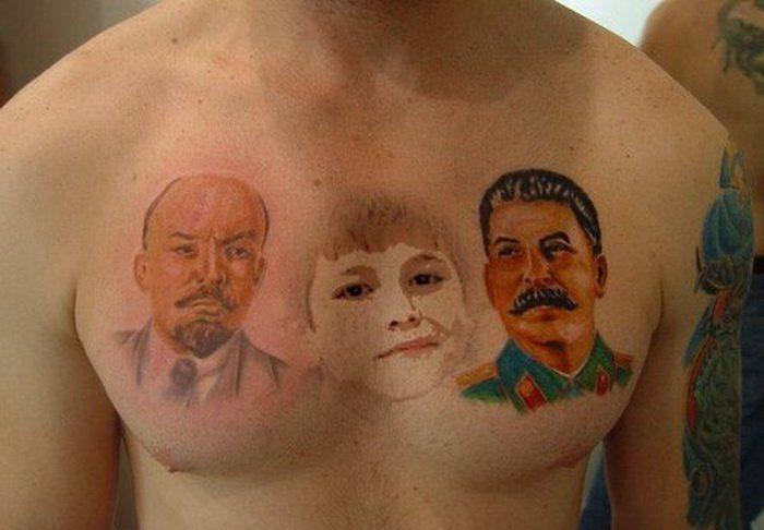 Чисто русские тату фотографии готовых татуировок (3)