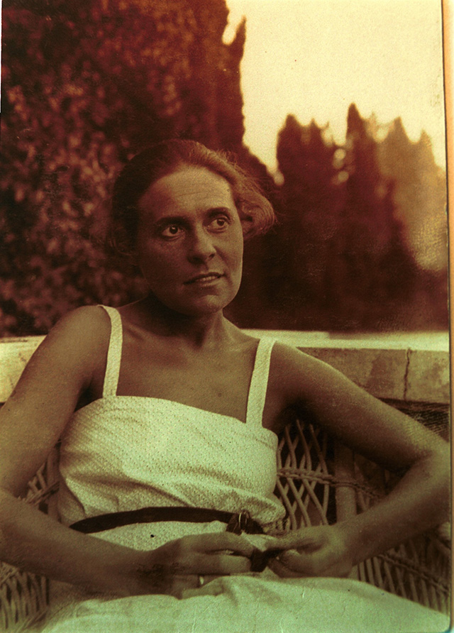 Lili Brik (born Lilya Kagan, 1891-1978) - Russian literary woman, known best as a muse of Vladimir Mayakovsky