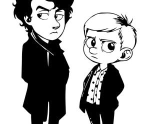 Сериал Шерлок — арт и рисунки