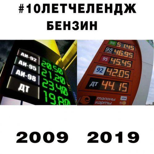 челлендж 2009 2019 приколы мемы картинки (21)