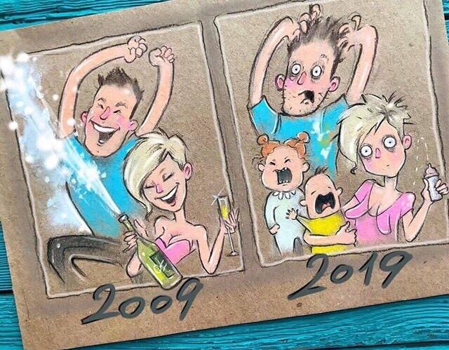 челлендж 2009 2019 приколы мемы картинки (34)