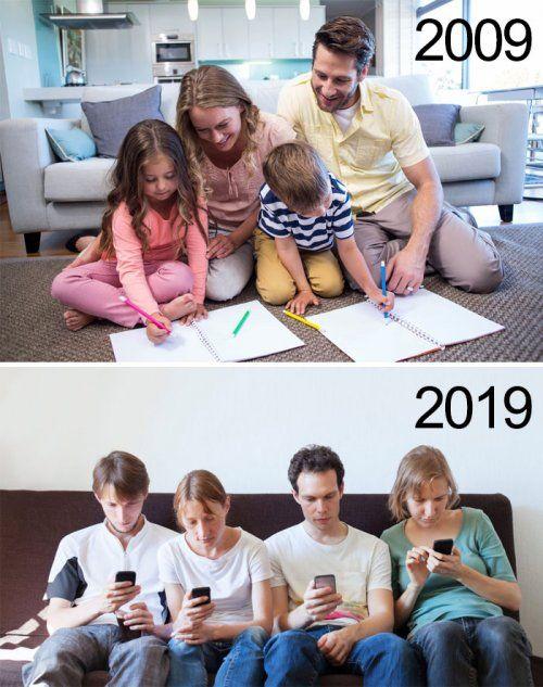челлендж 2009 2019 приколы мемы картинки (7)