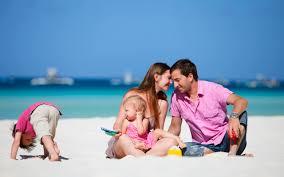 Пляжный отдых с детьми в России