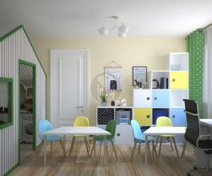 дизайн развивающего центра для детей МОСКВА